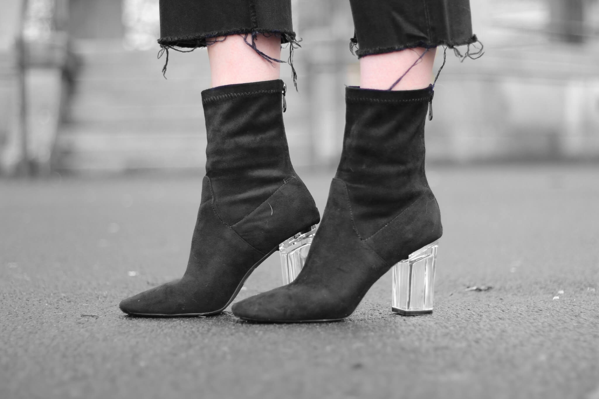 January fashion haul - public desire boots