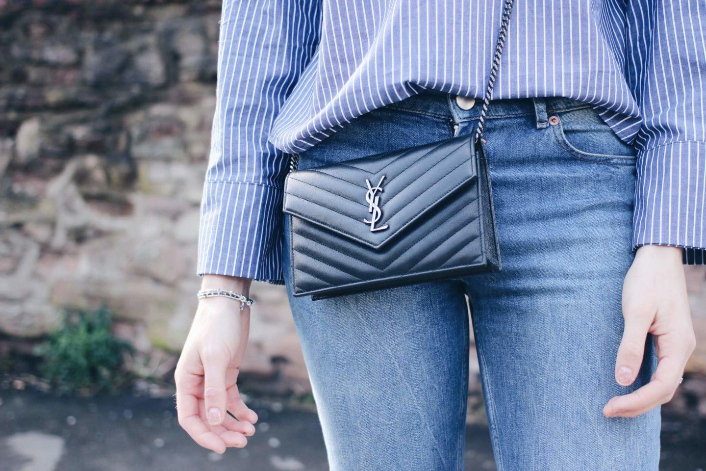 Saint Laurent Cross Body Bag on Style Blog Lurchhoundloves