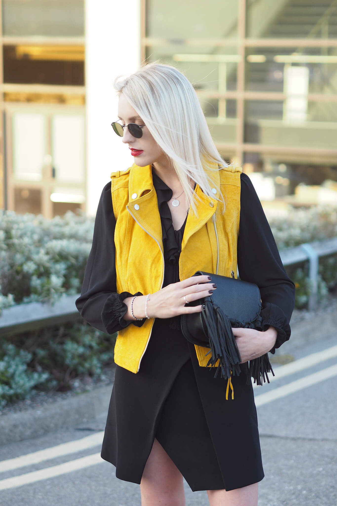 how to do the vivid colours trend on uk fashion blog
