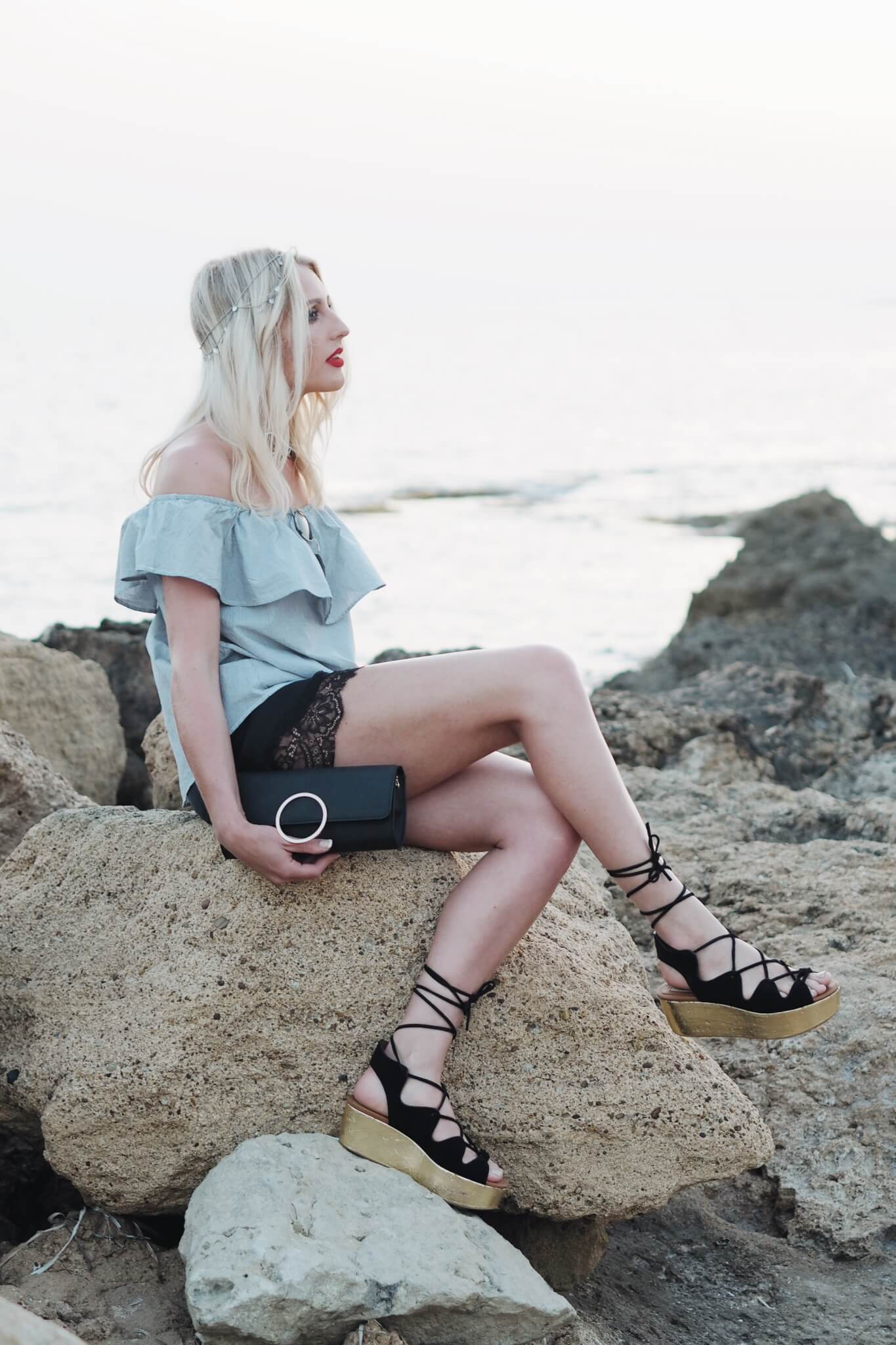 Charlotte Buttrick Fashion Blogger in H&M Outfit