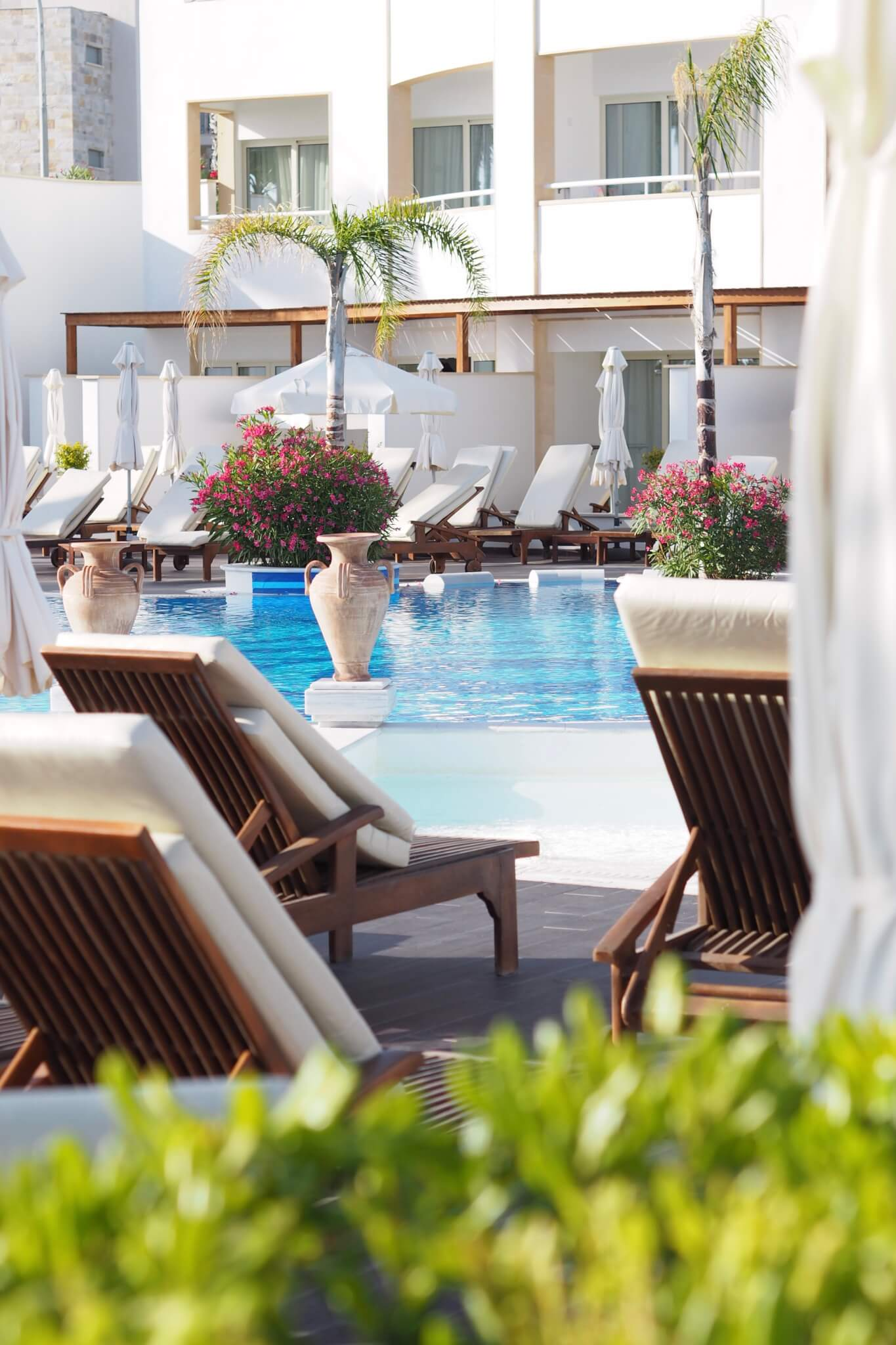 Olympic Lagoon Resort Paphos adults only pool blog stay