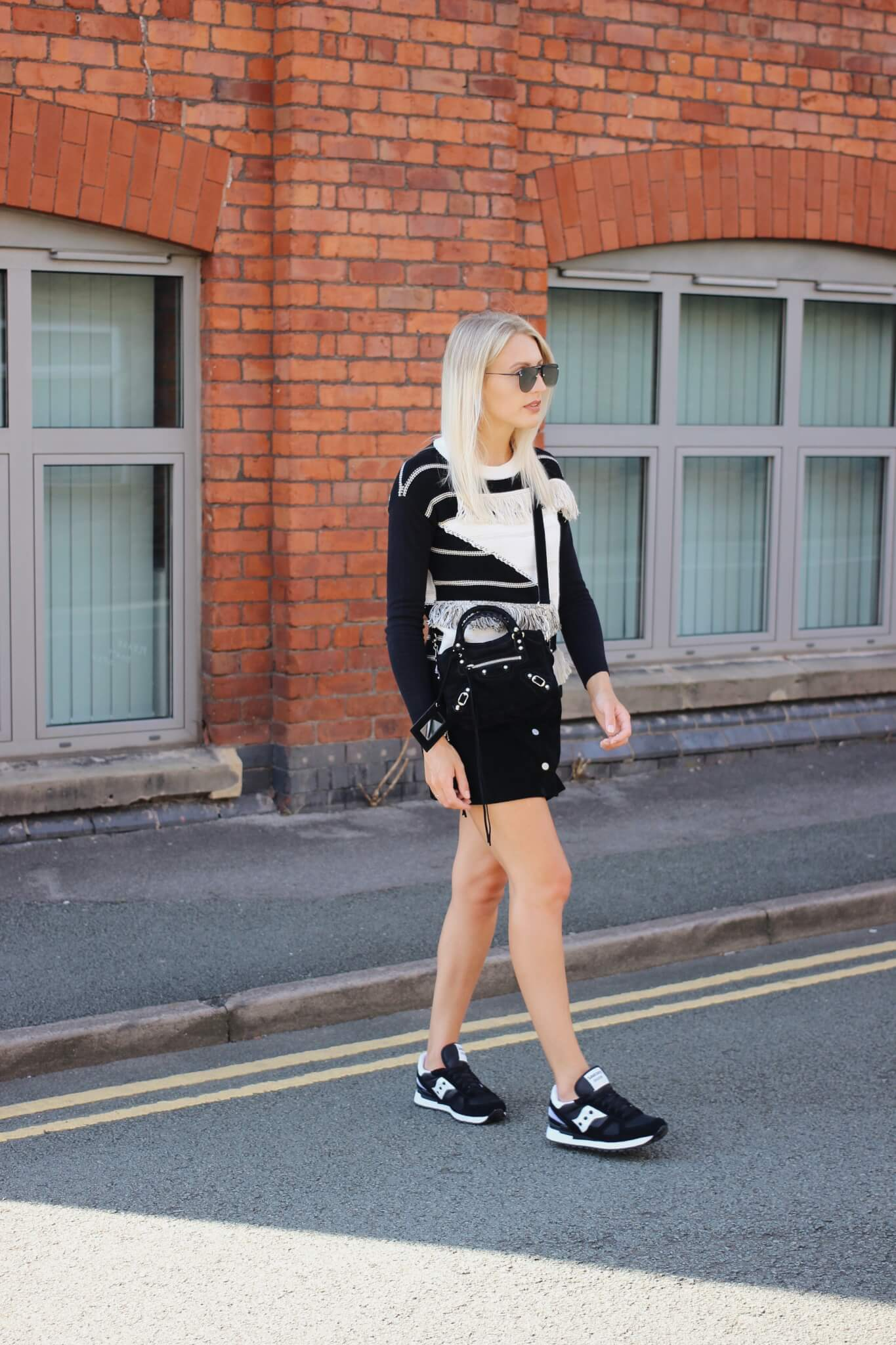 Styling Skirts And Trainers Off Duty Looks Part Two
