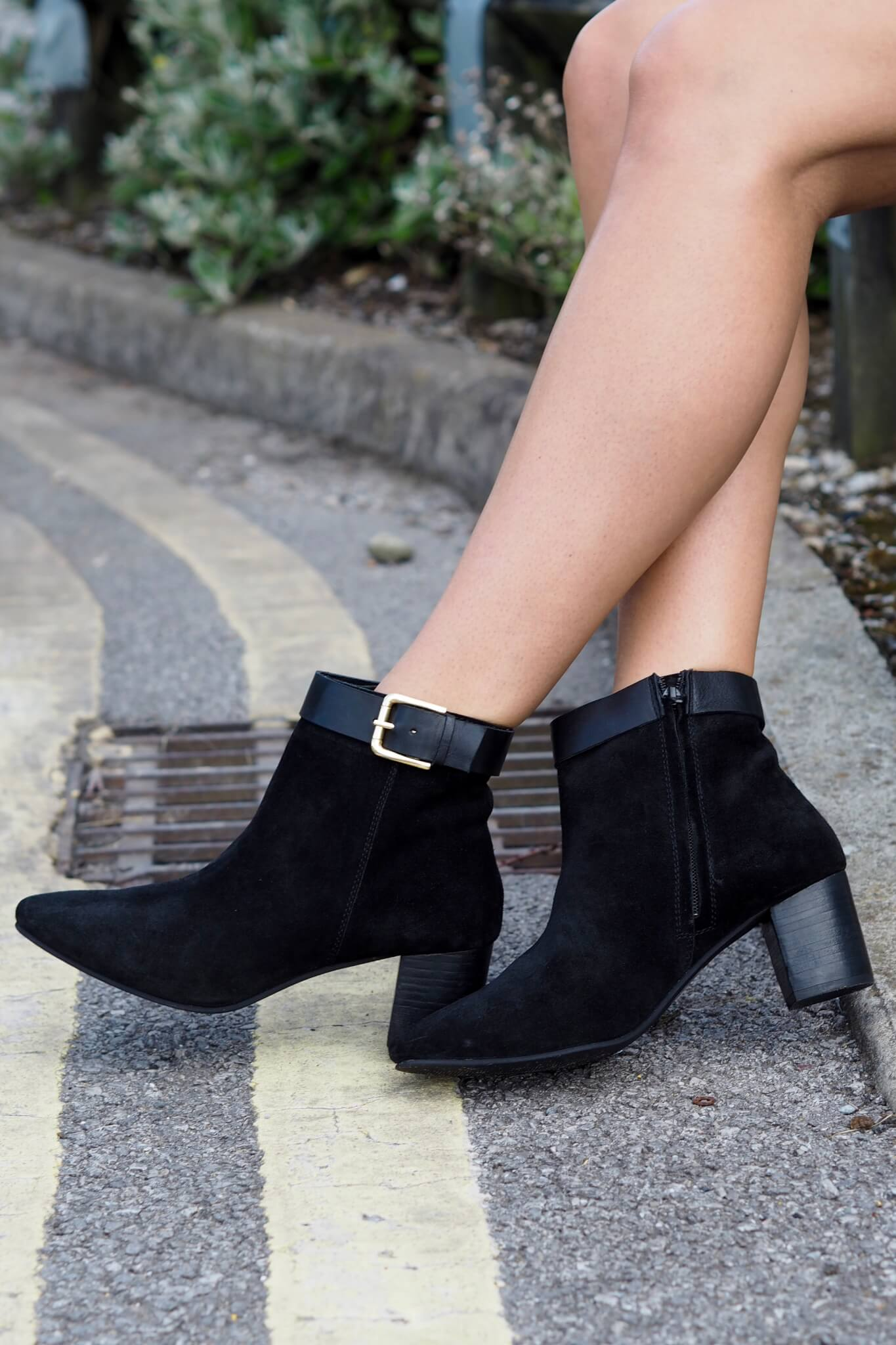 Transitional Ankle Boots from Summer to Fall / Autumn