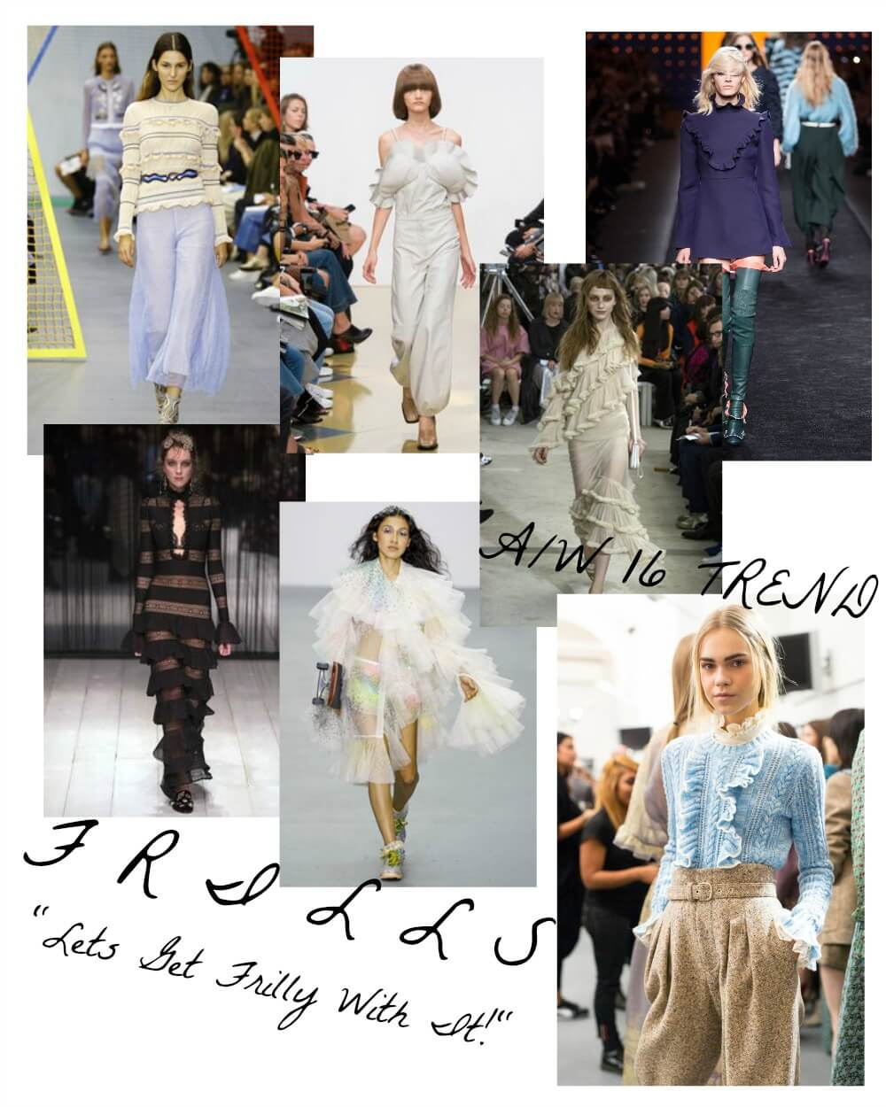 Frills Trend AW16 Get The Look with these high street edit