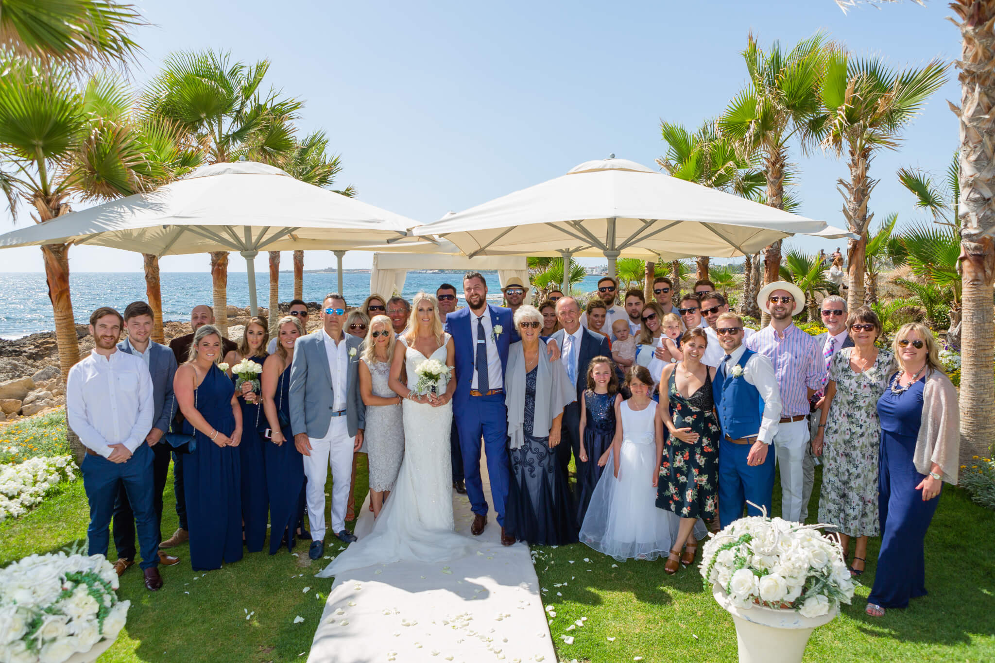 How i survived my wedding abroad tips tricks wedding abroad paphos cyprus at the olympic lagoon resort solutioingenieria Image collections