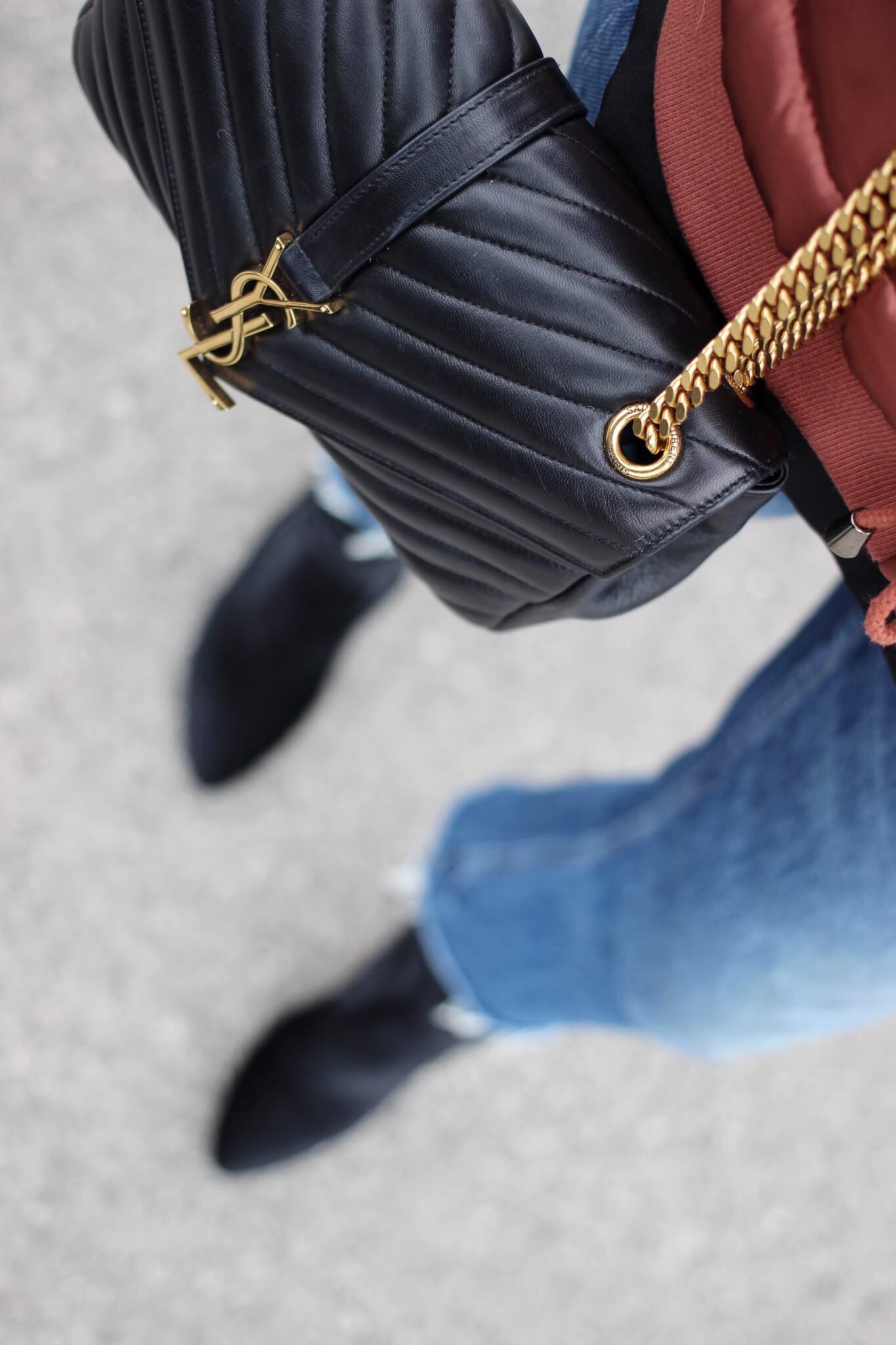 Saint Laurent Handbag on UK Fashion Blog