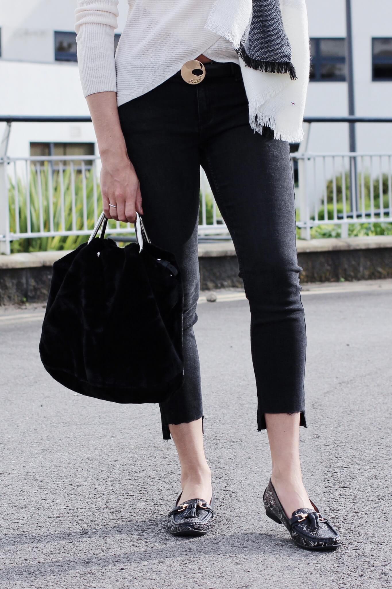 Styling Animal Print Shoes For Autumn Uk Fashion Blog High Street Style Lurchhoundloves