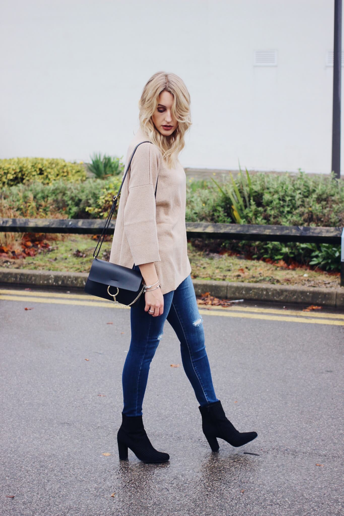 Casual Everyday Outfit On Uk Fashion Blog Lurchhoundloves