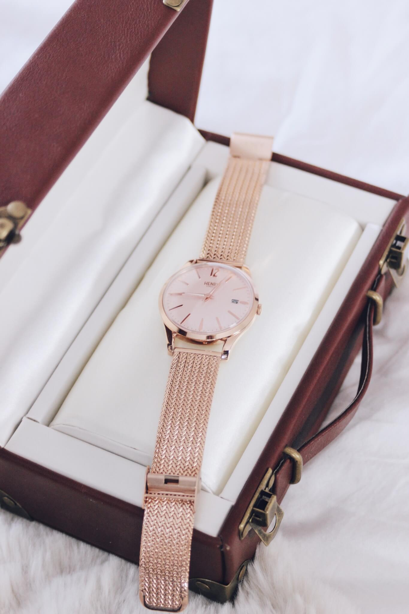 Henry London Rose Gold Shoreditch Watch
