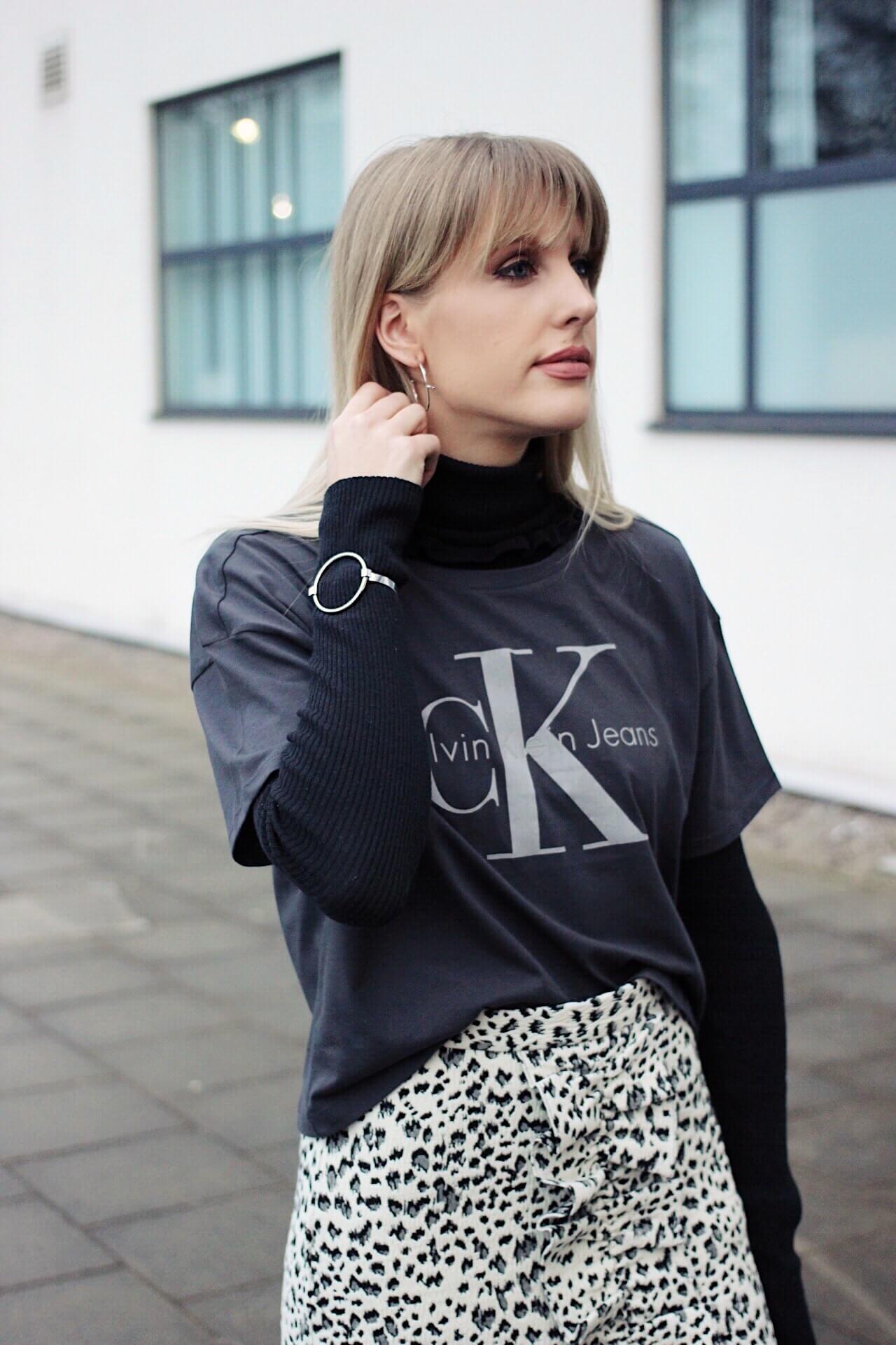 how to wear leopard print - minimal fashion
