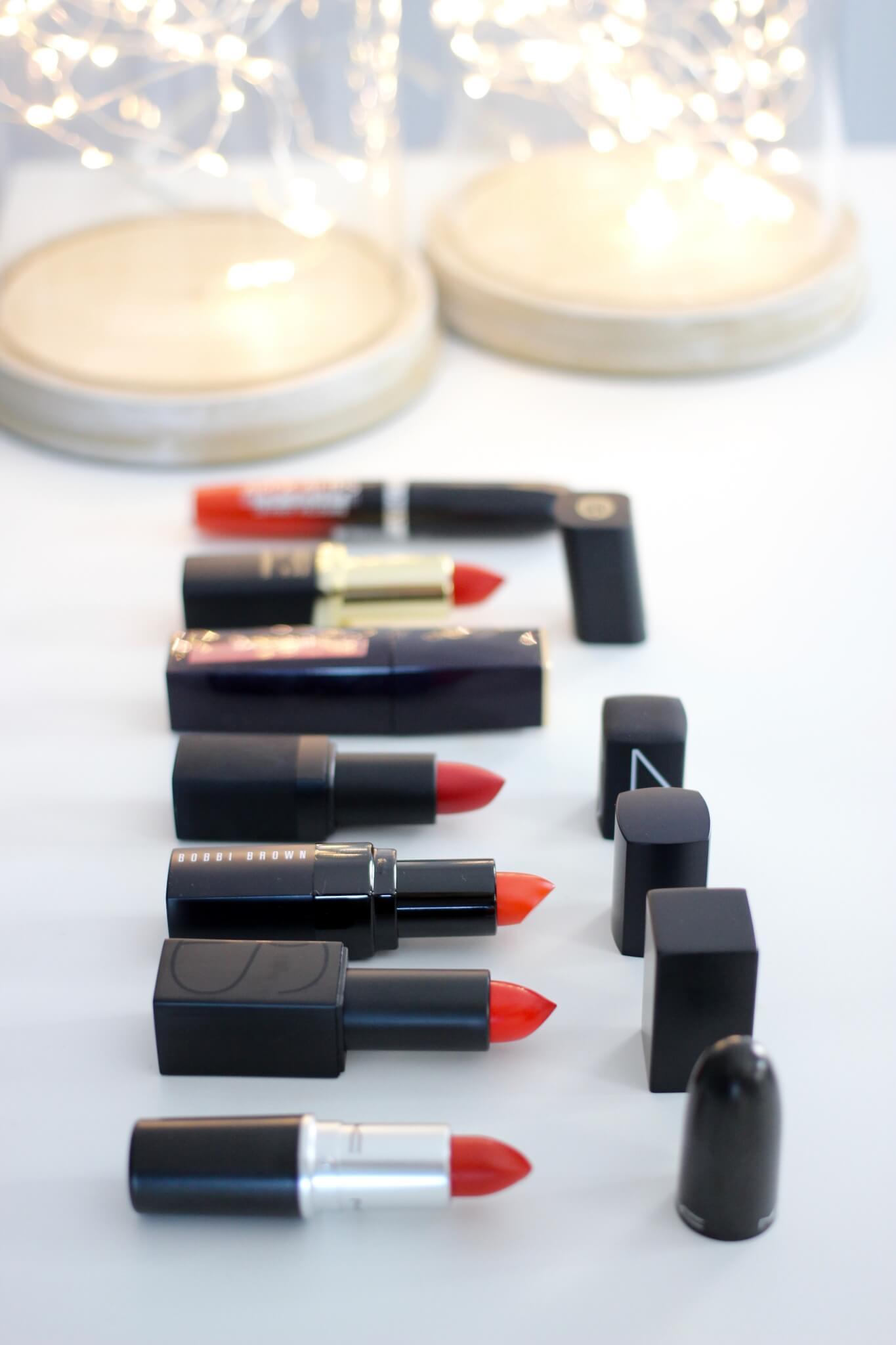 Best Bright Red Lipsticks