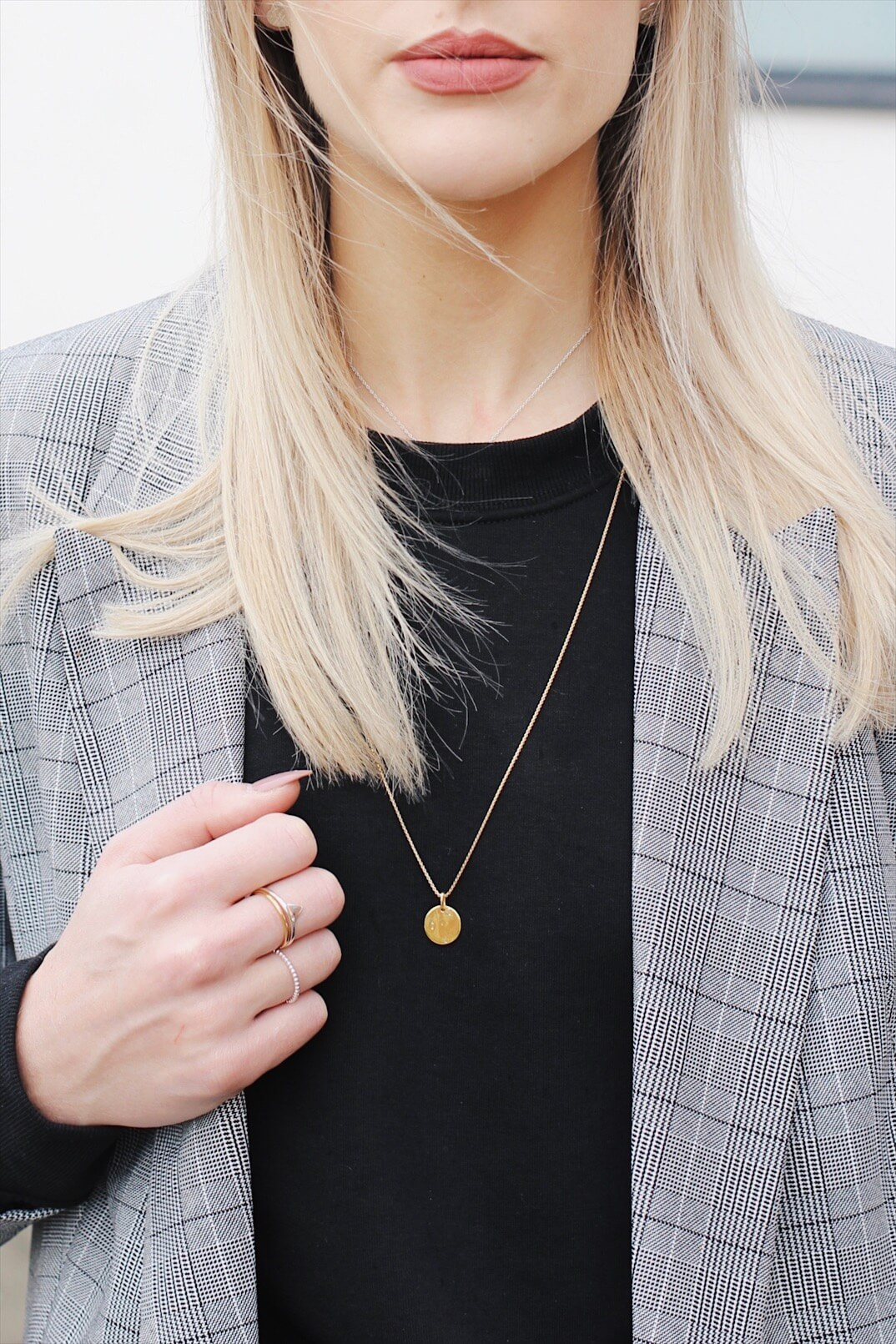 Charming Mixing Gold And Silver Jewellery On Style Blogger