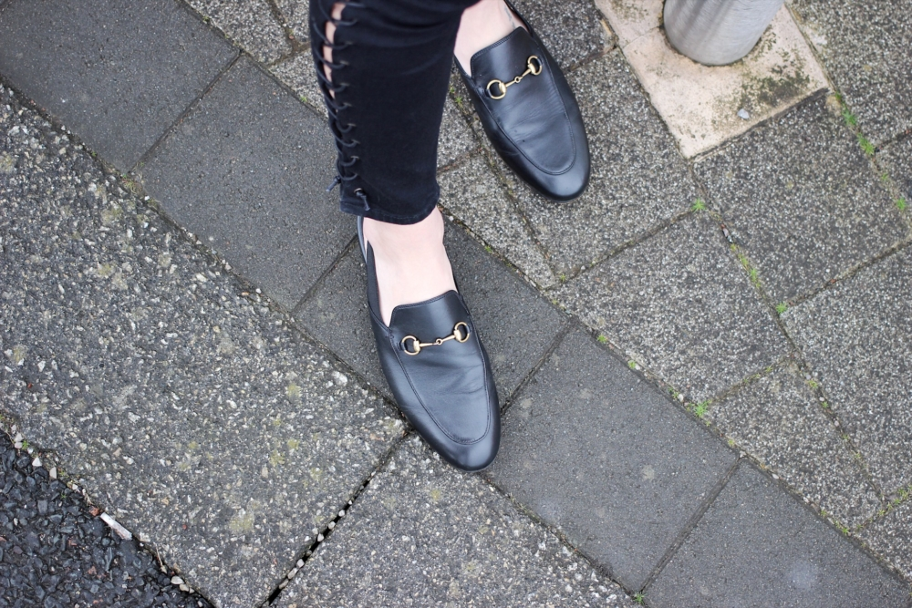 Gucci loafers and mule dupes on the high street