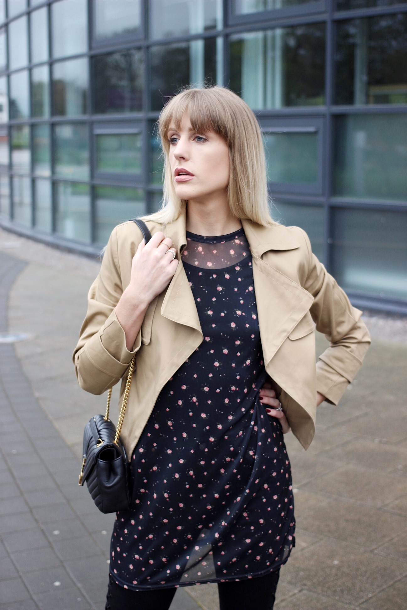 How to wear the trench jacket