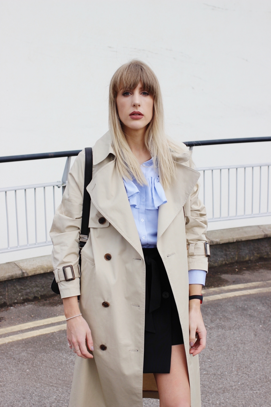 how to wear a trench coat, styling ideas