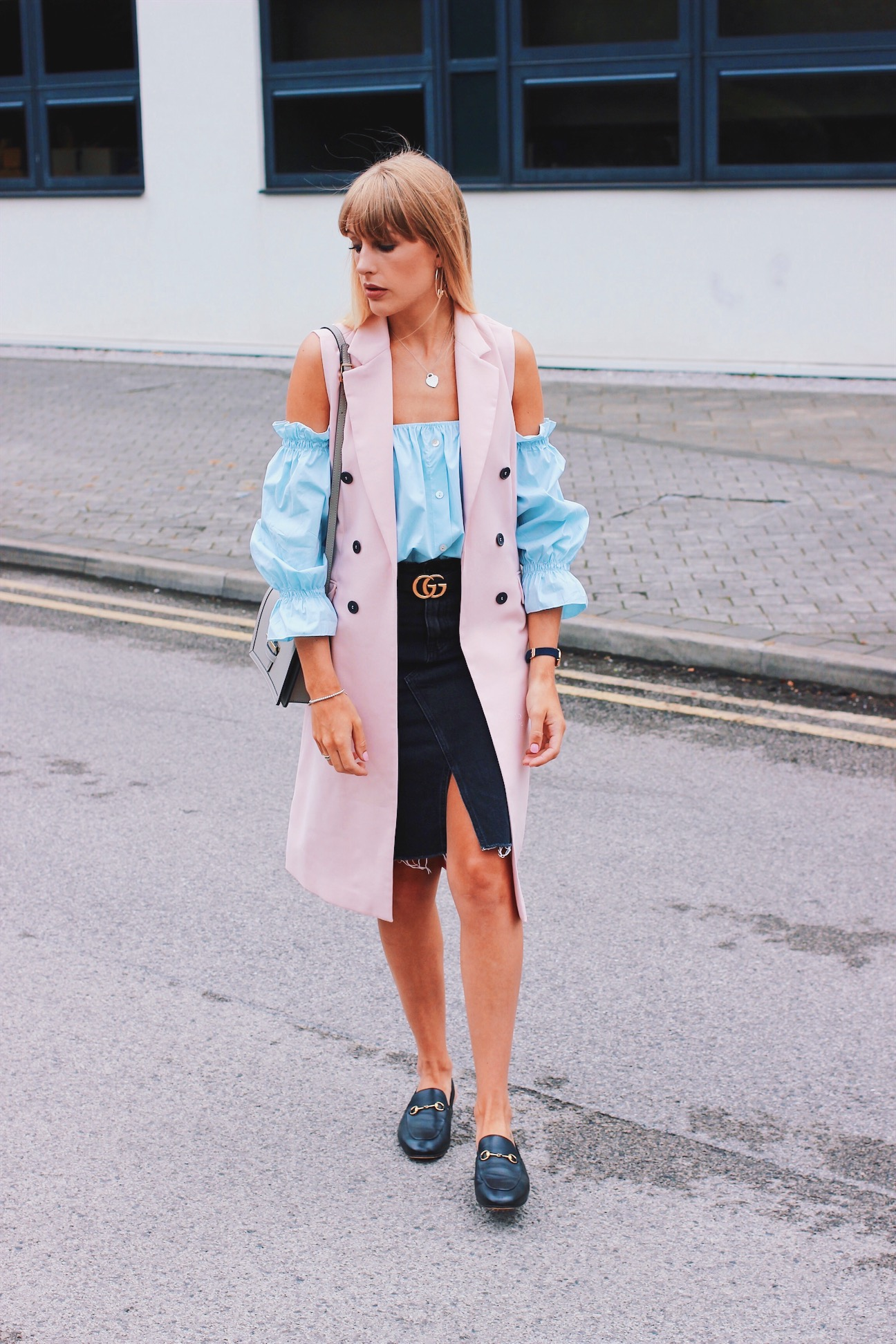 How to style the Gucci Belt Street Style