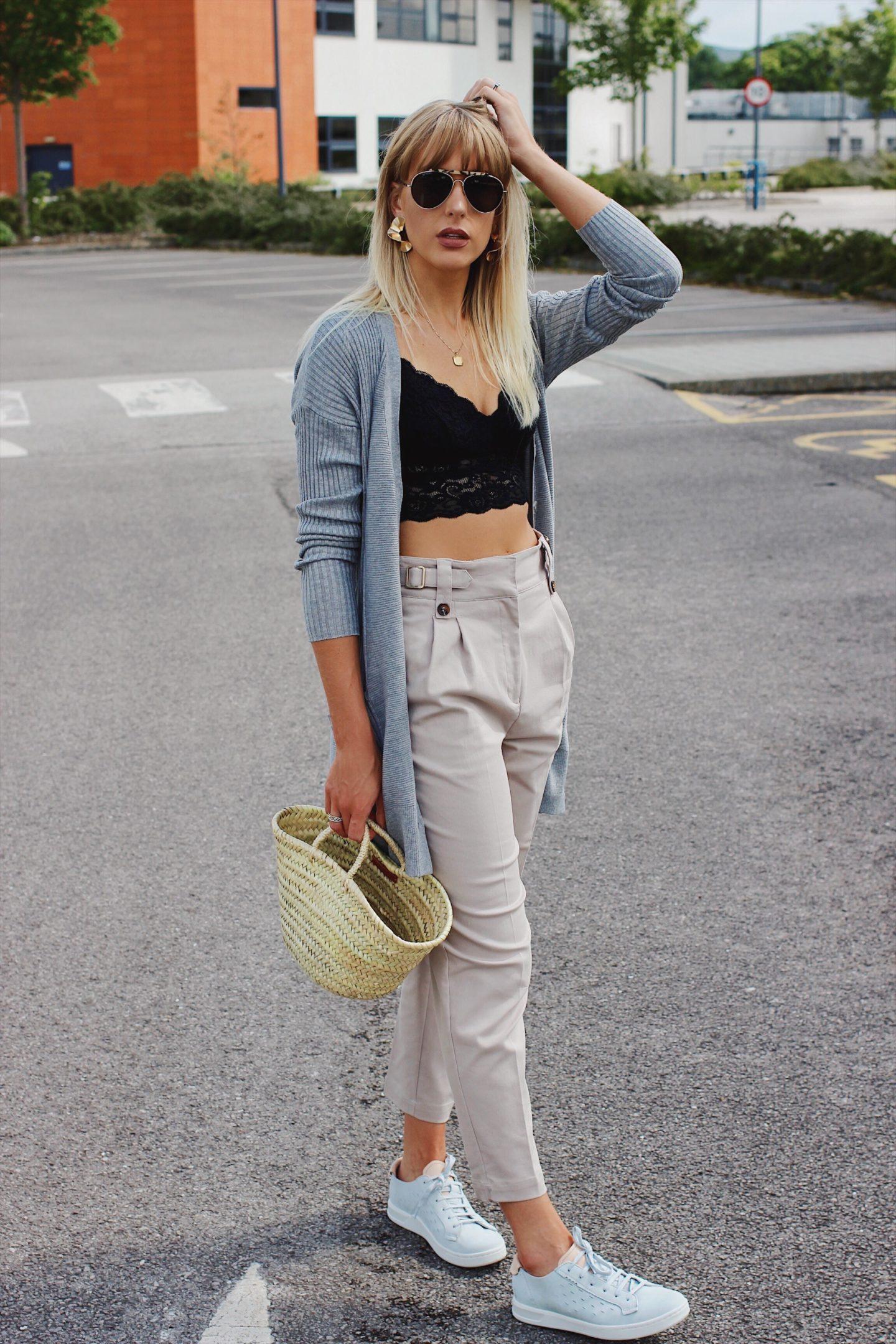 Charlotte Buttrick high street style blogger wearing next new season