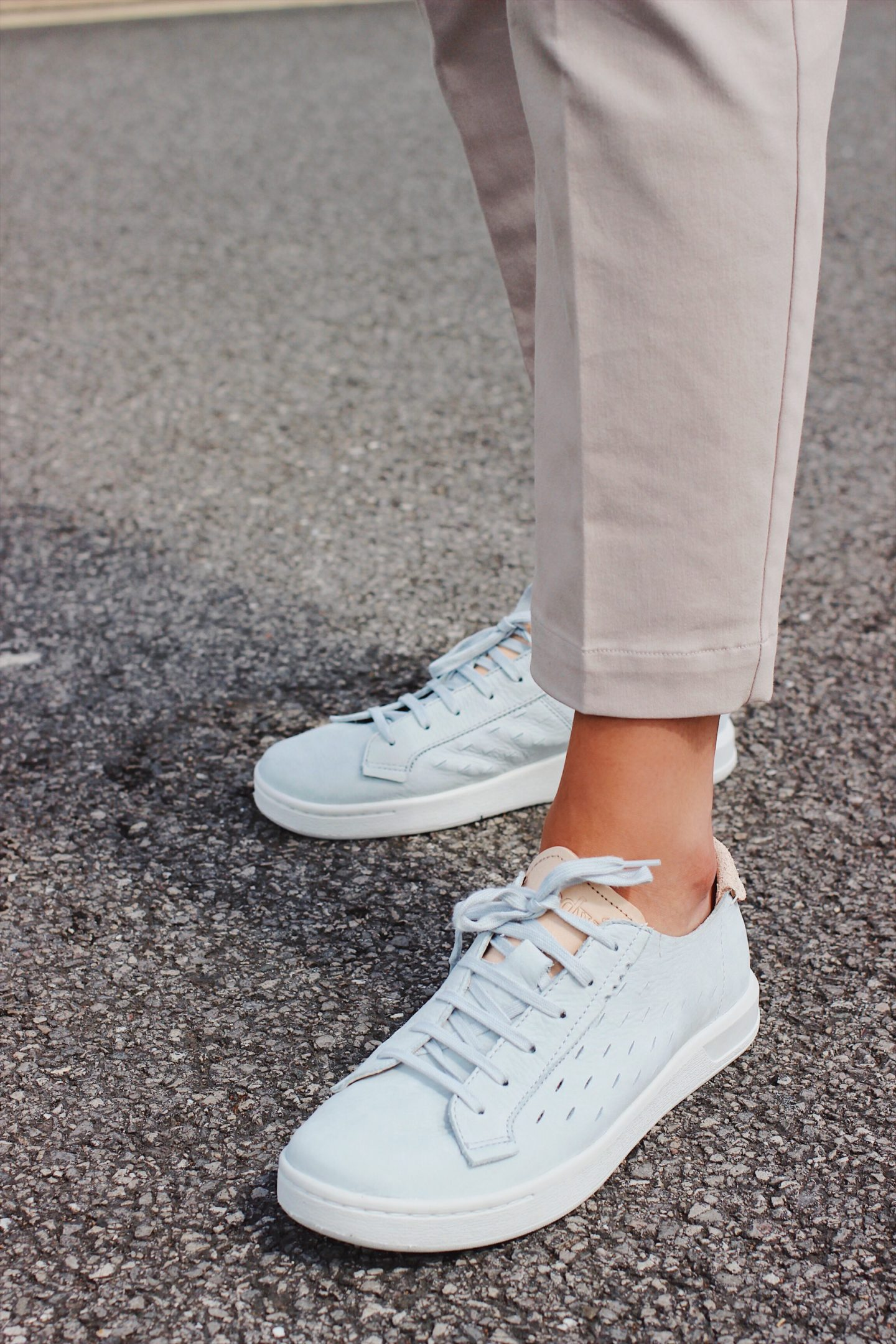 grey suede women trainers from ohw?