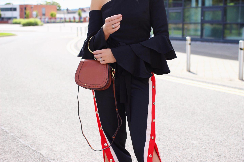 Chloe Nile Dupe leather handbag street style