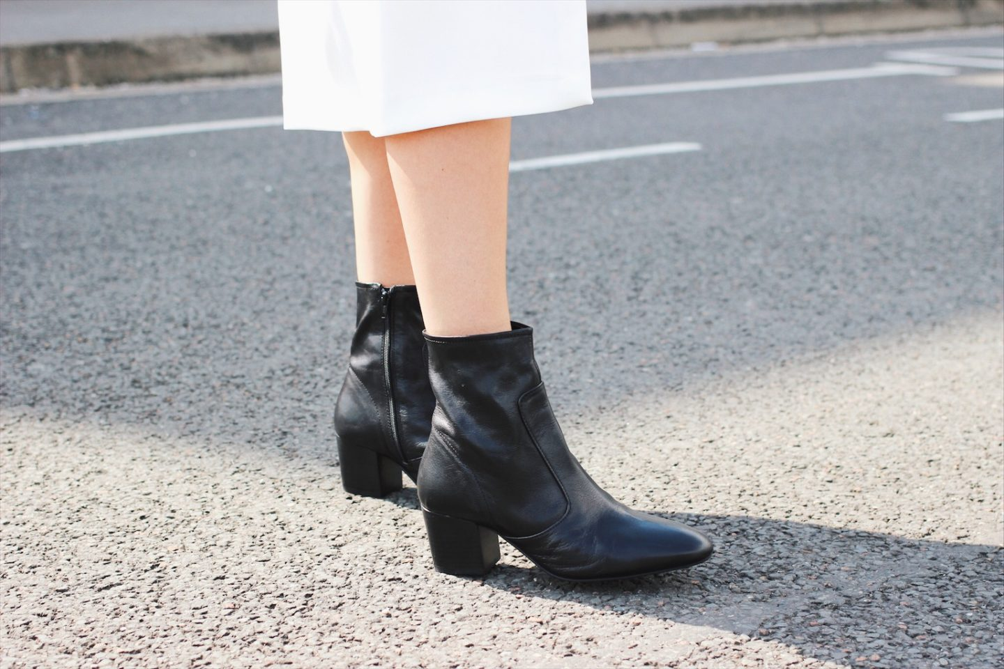 River Island sock boots street style
