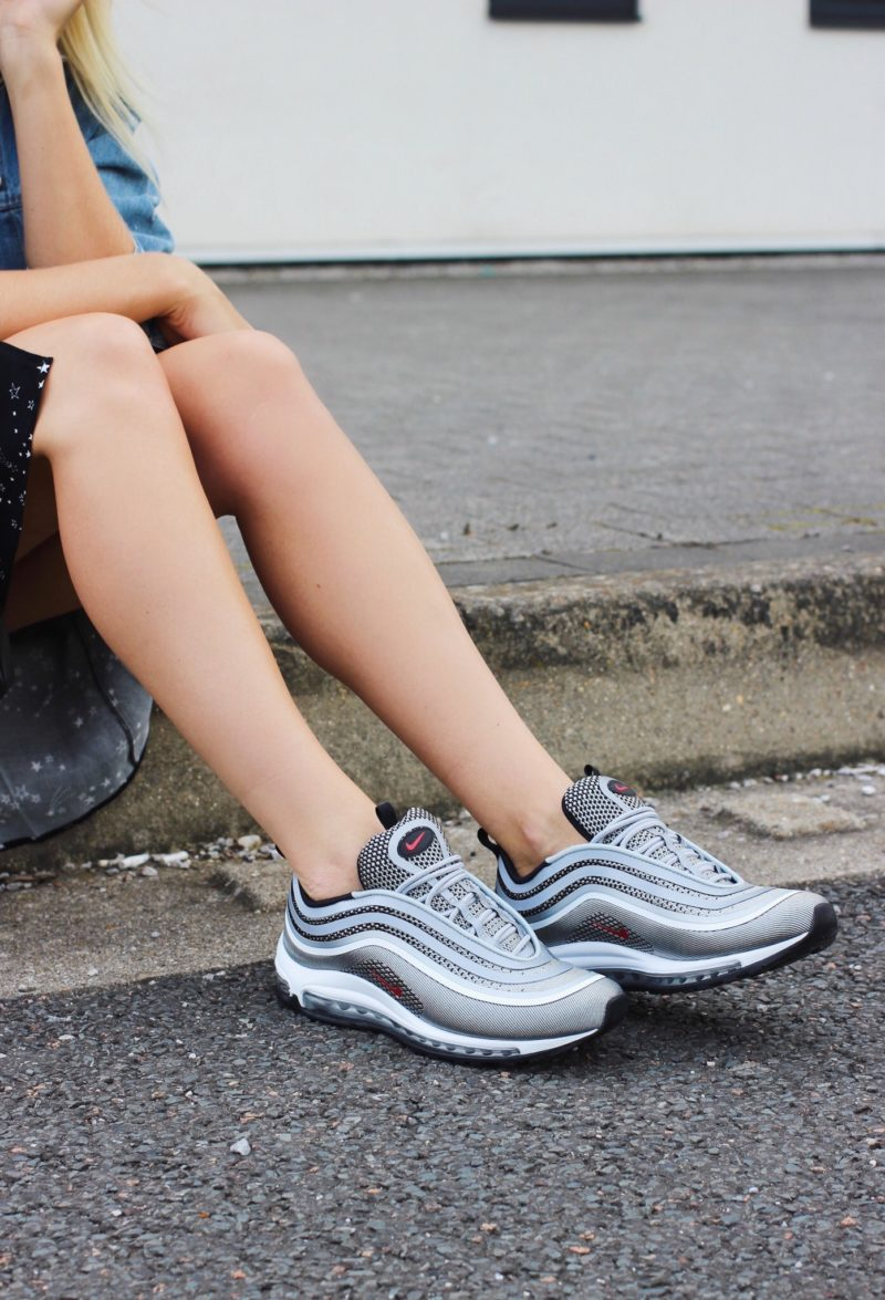 Nike Air Max 97 Womens Street Style Silver Bullet — Lurchhoundloves 62c5b56fbbc5
