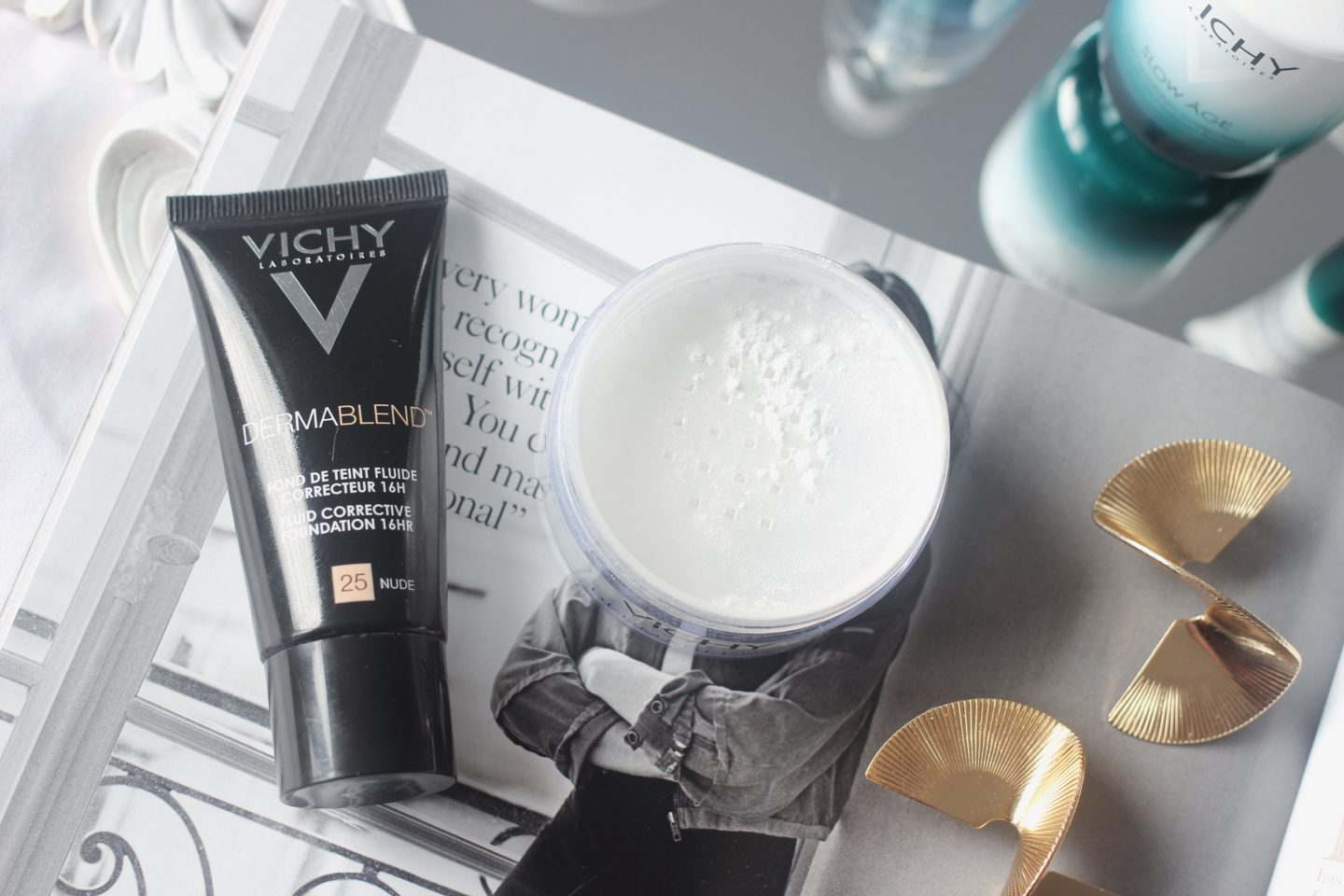 Vichy full coverage Dermablend foundation shade 25