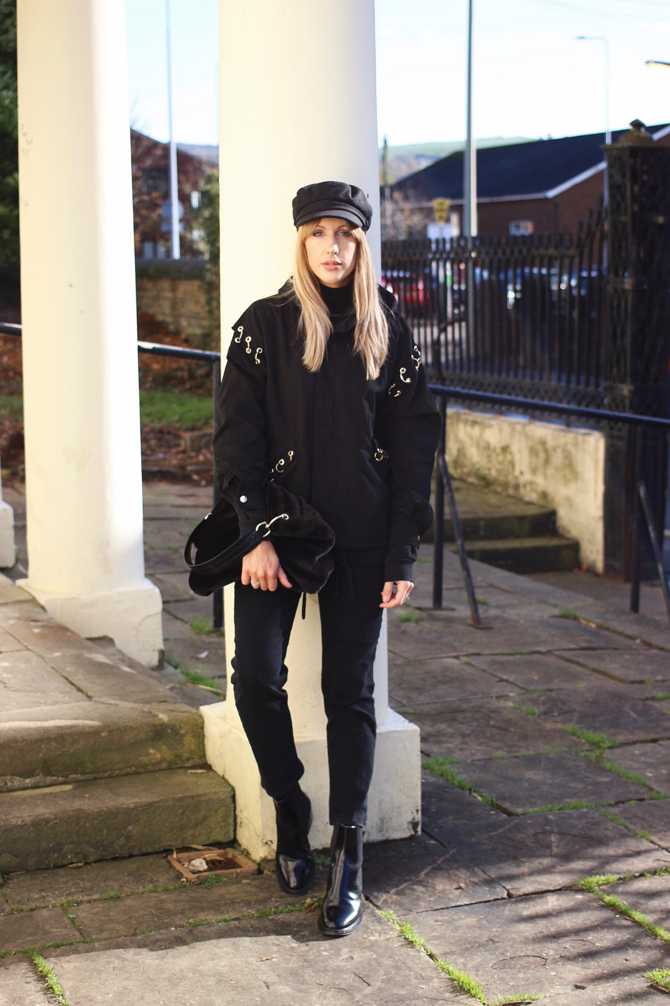 All Black outfit Inspiration For Autumn