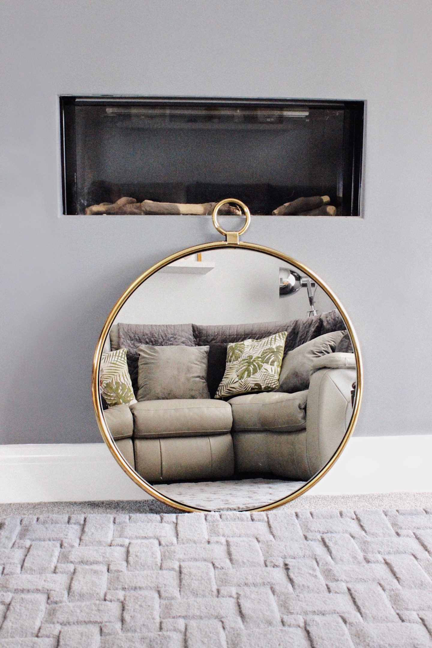 Next Circular Hanging Mirror