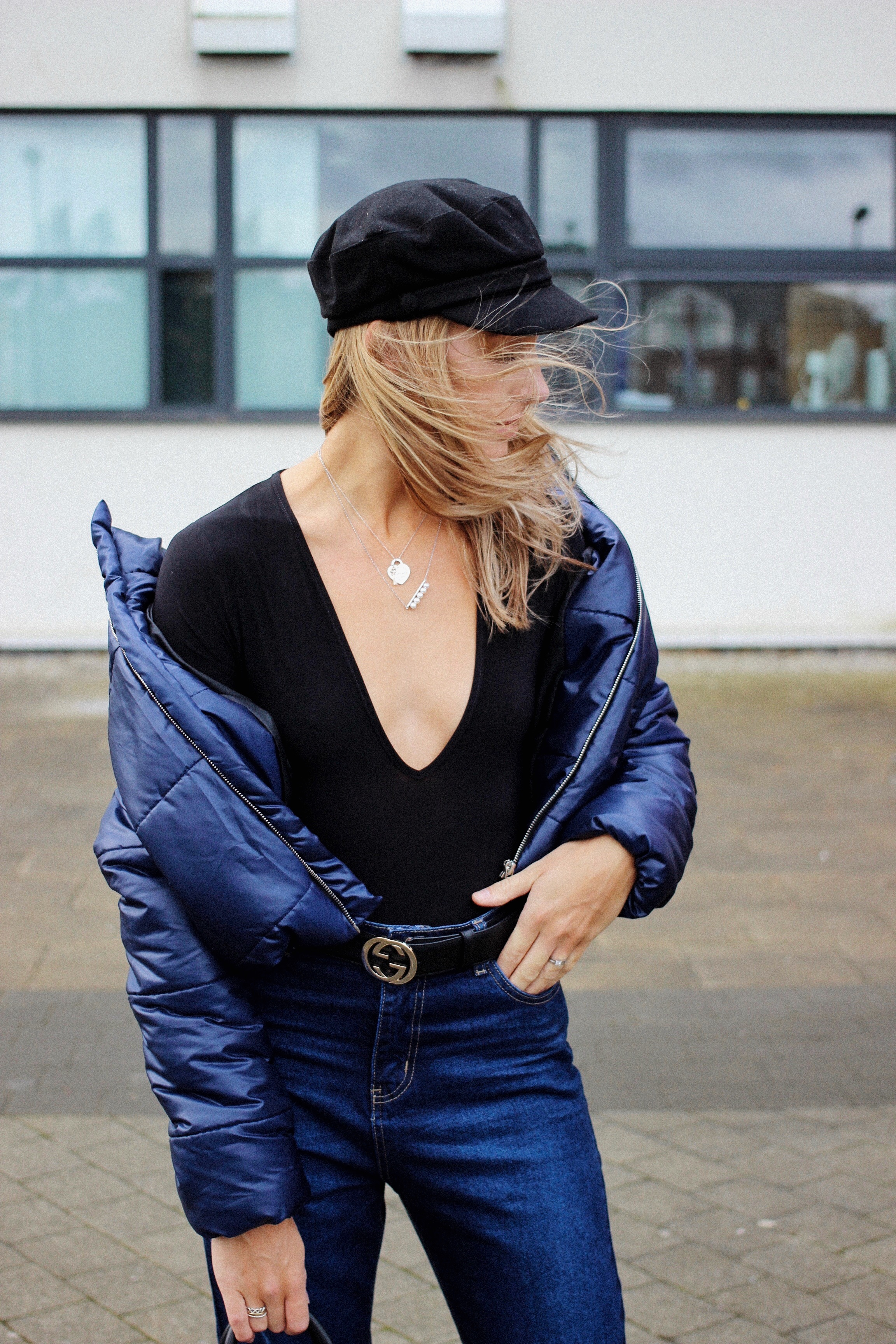 UK high street fashion blogger Charlotte Buttrick from Lurchhoundloves