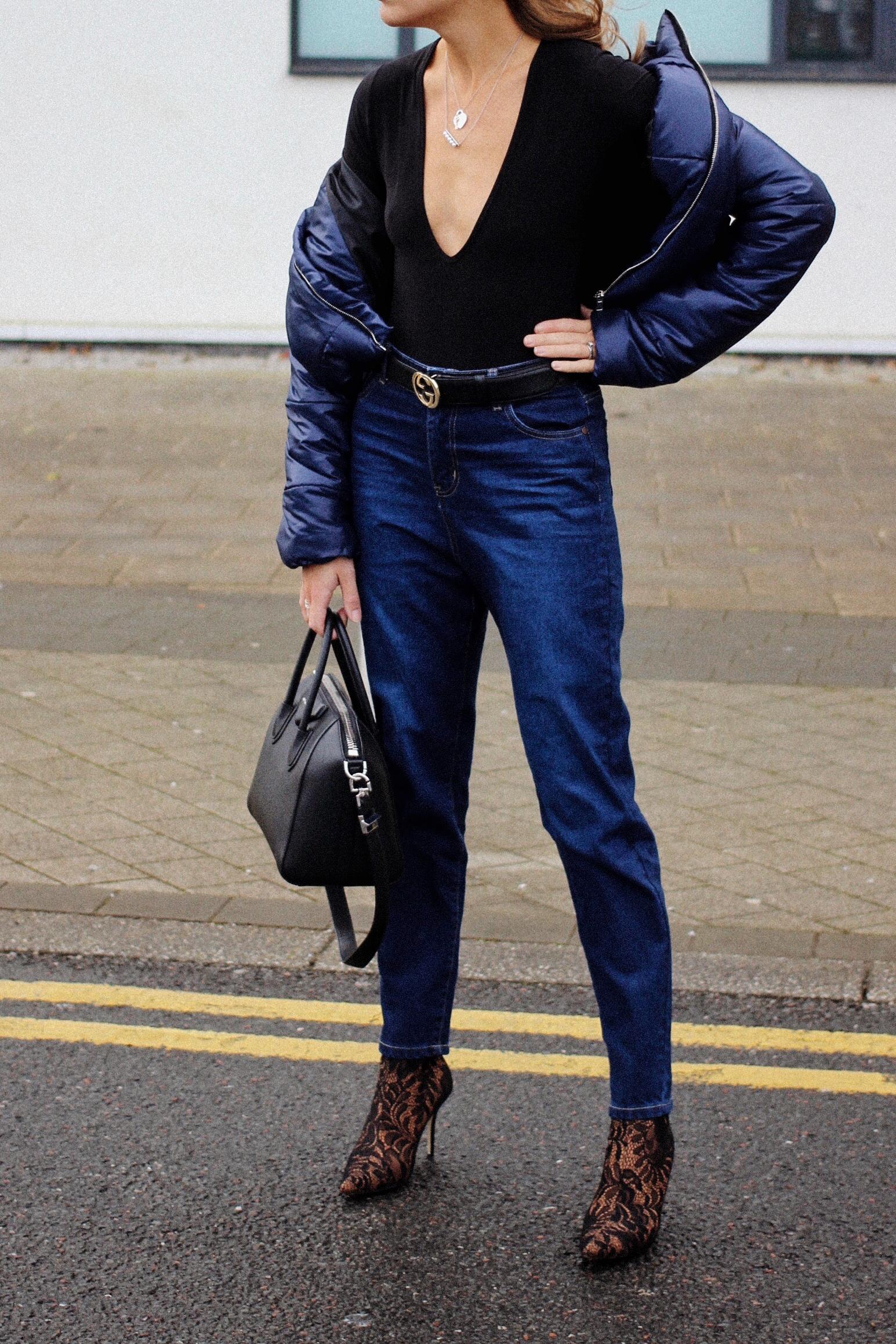 6fc38733f1 dark denim street style outfit inspiration — Lurchhoundloves