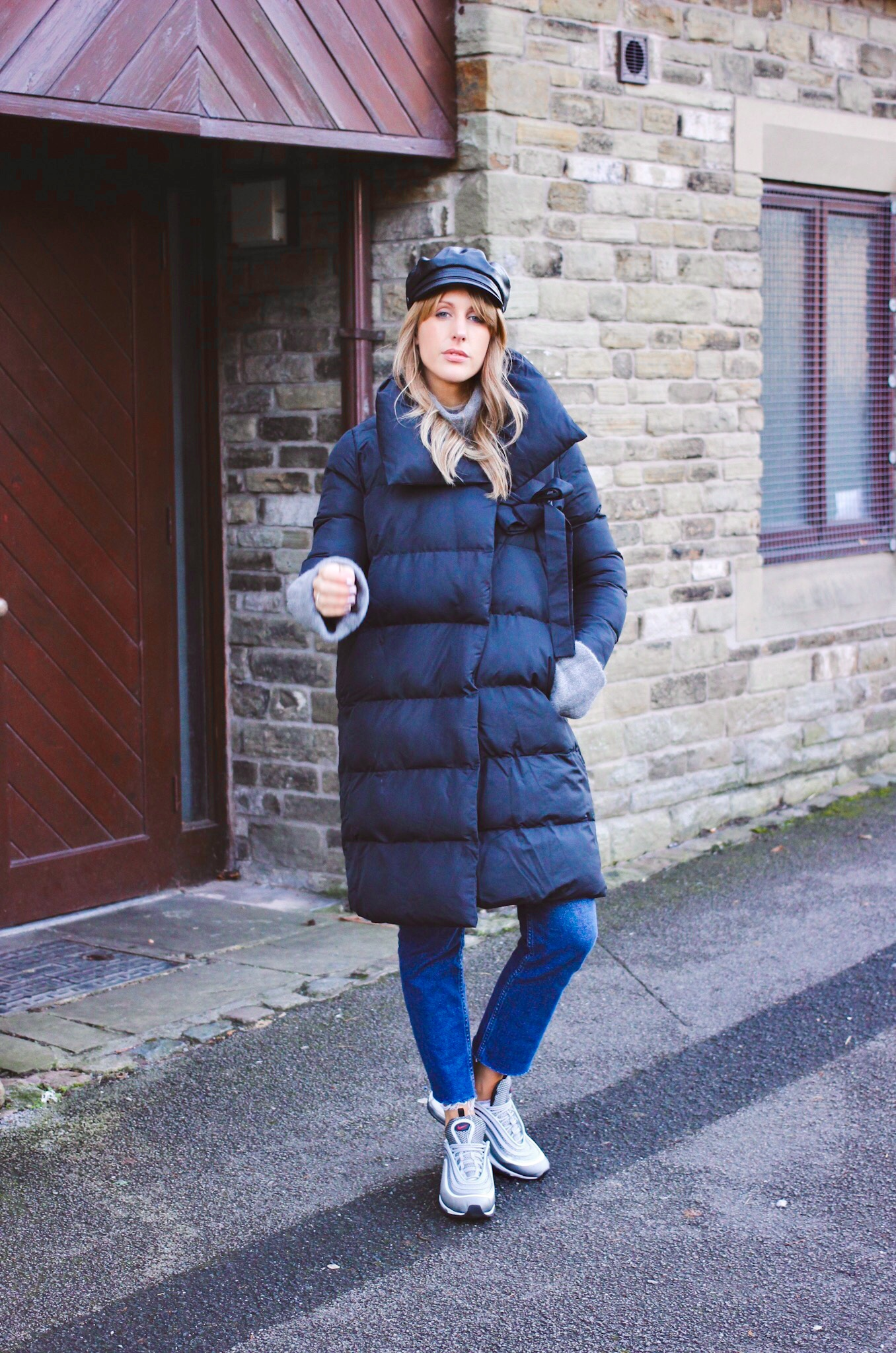 how to style the padded coat