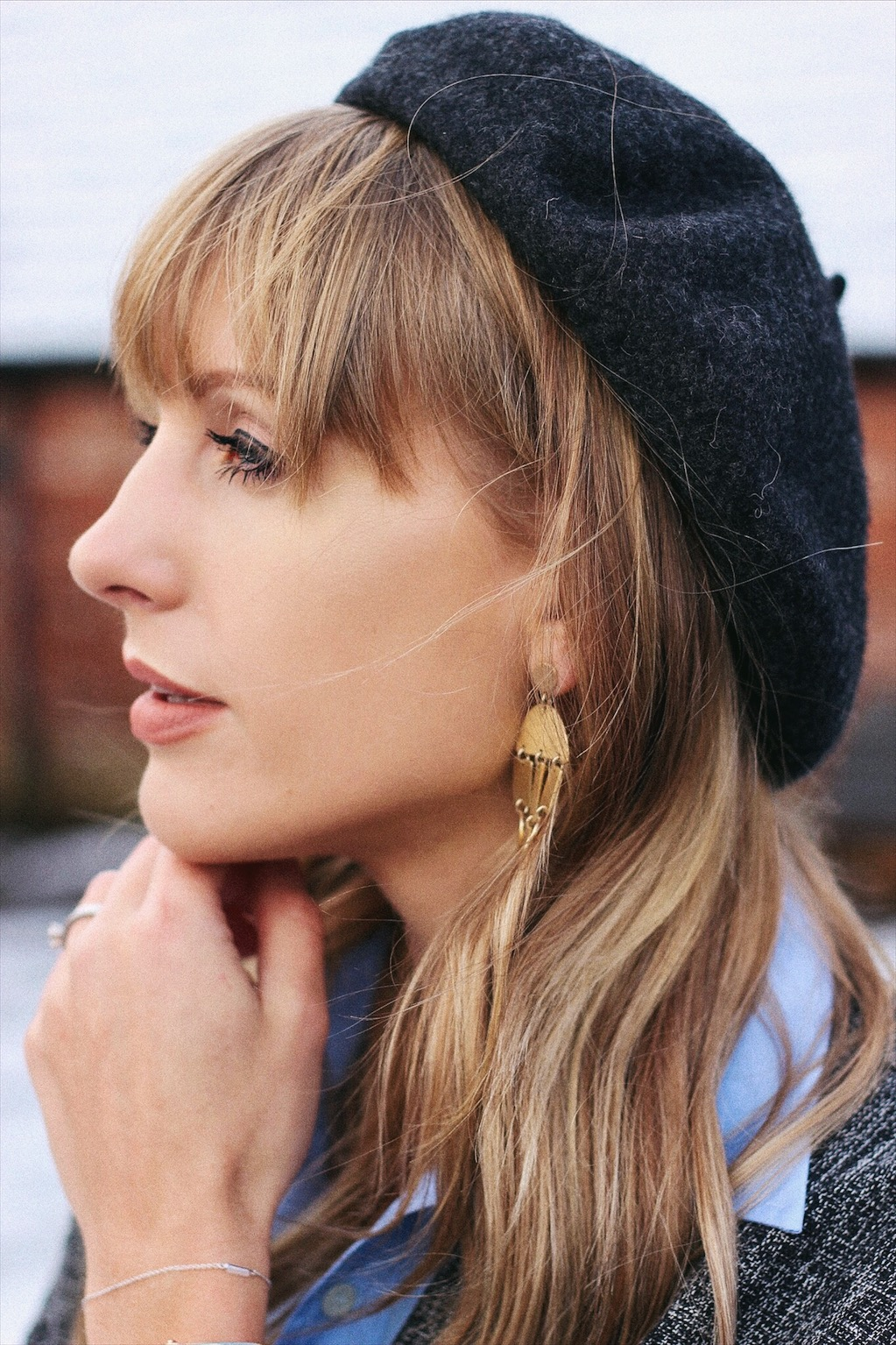 topshop beret on style blog hat inspiration for autumn