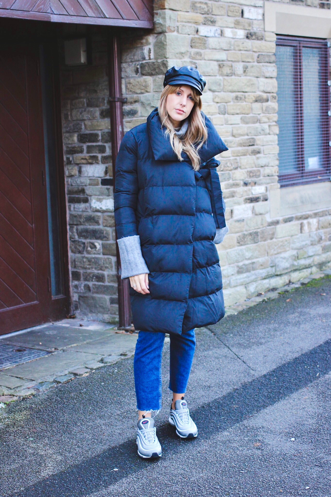 how to wear a padded coat