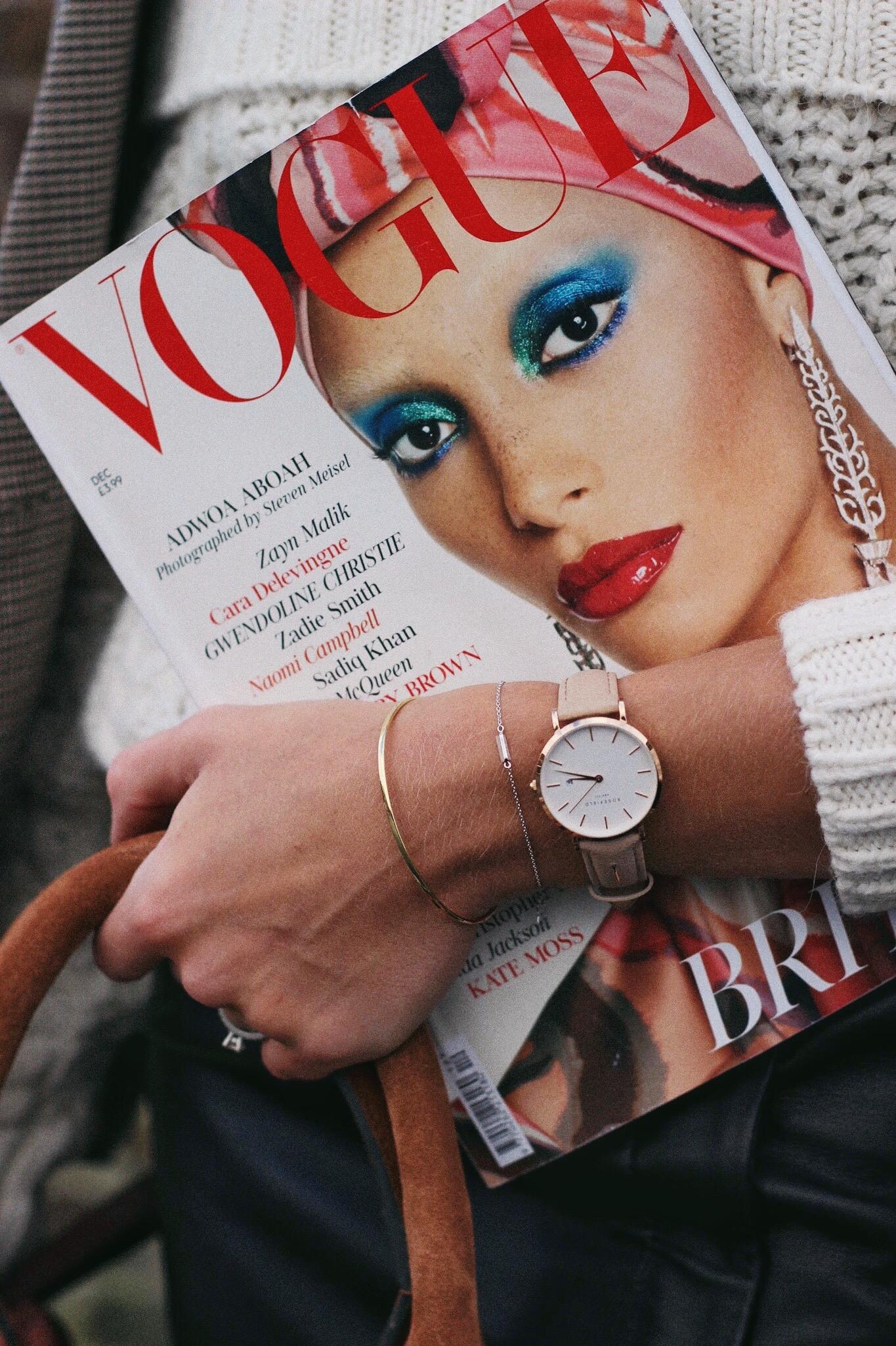Vogue Magazine Street Style December 2017