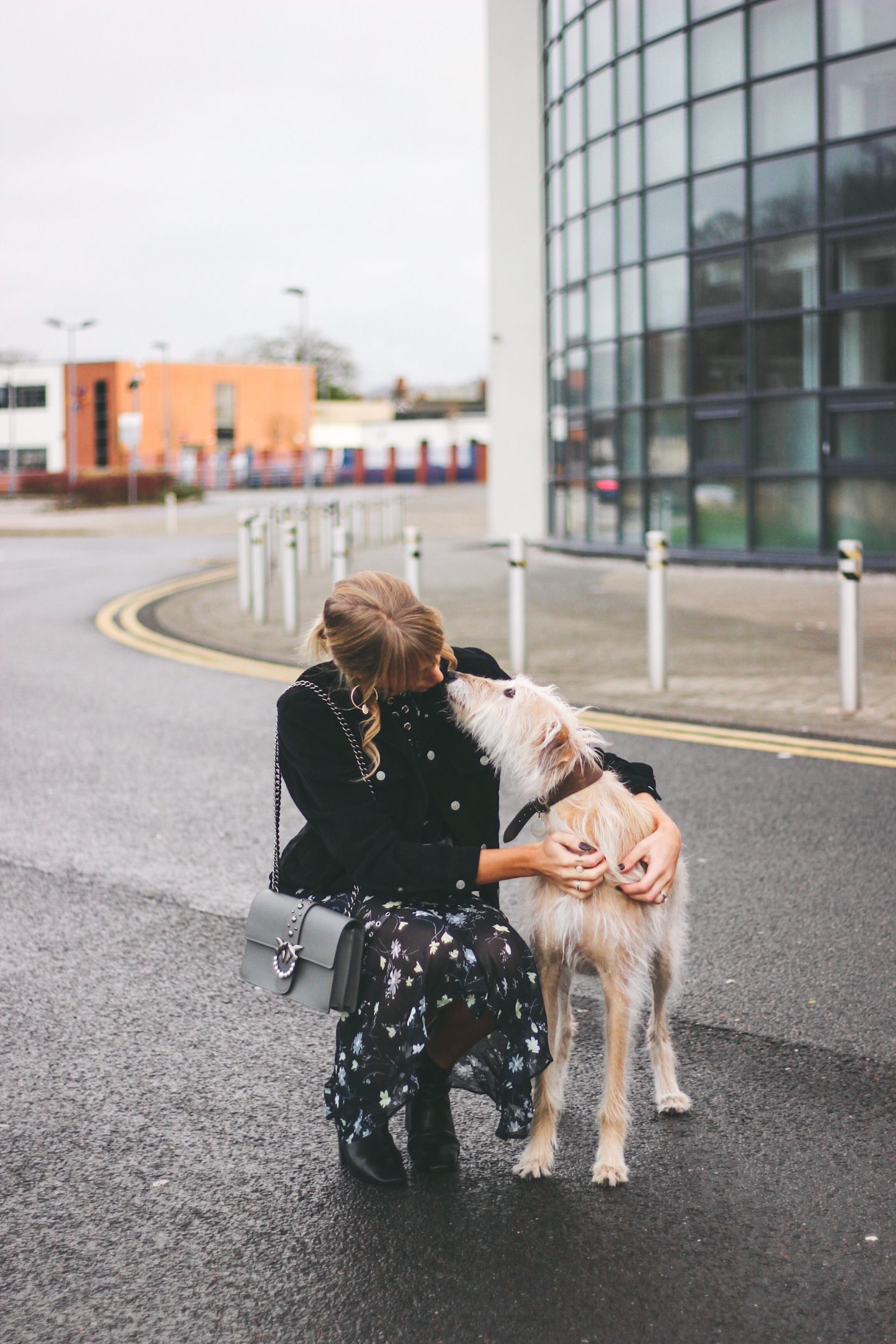 fashion bloggers and their dogs charlotte and lurcher brody from Lurchhoundloves