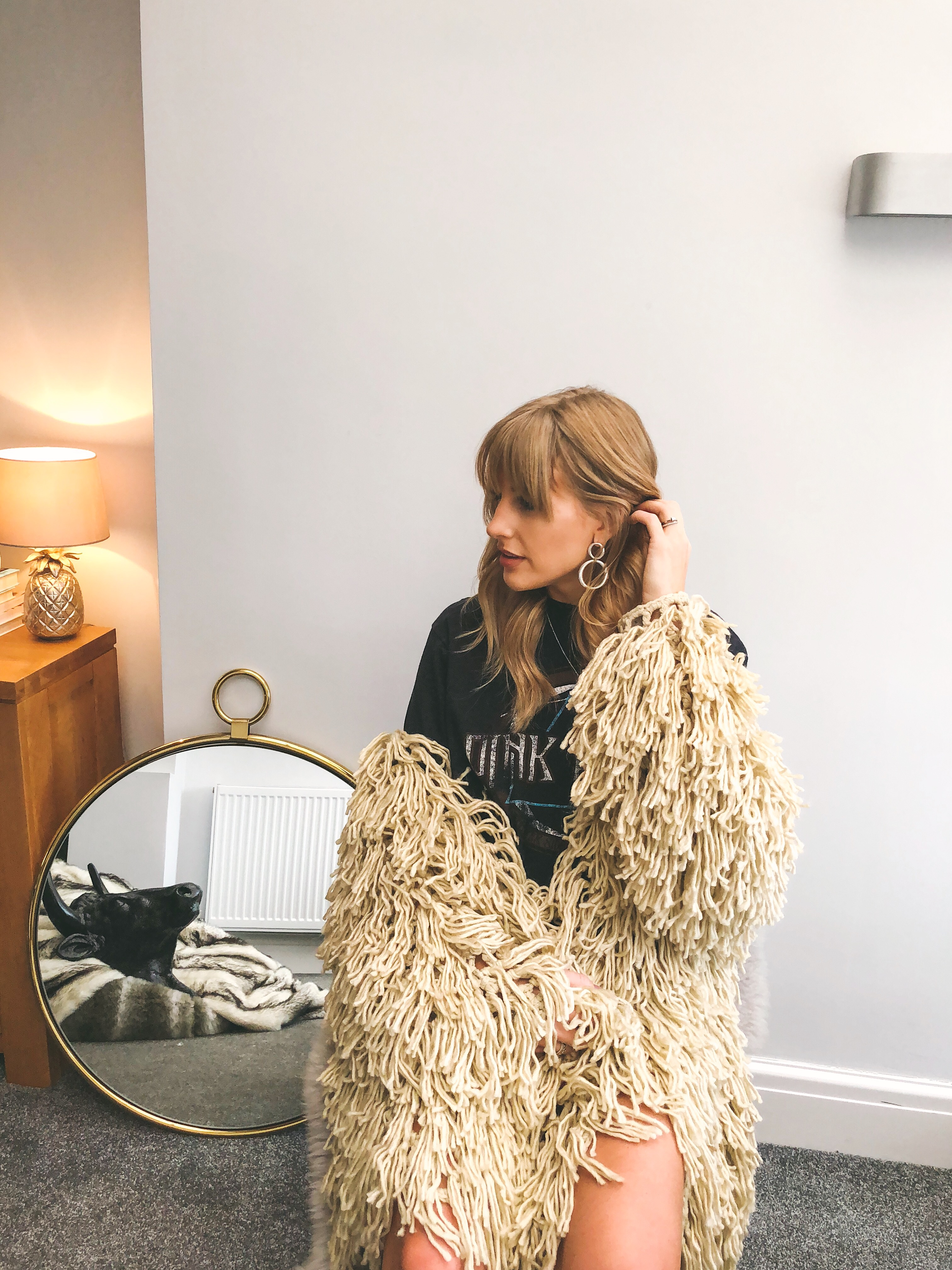 PLT Shaggy Cardigan and 20% discount