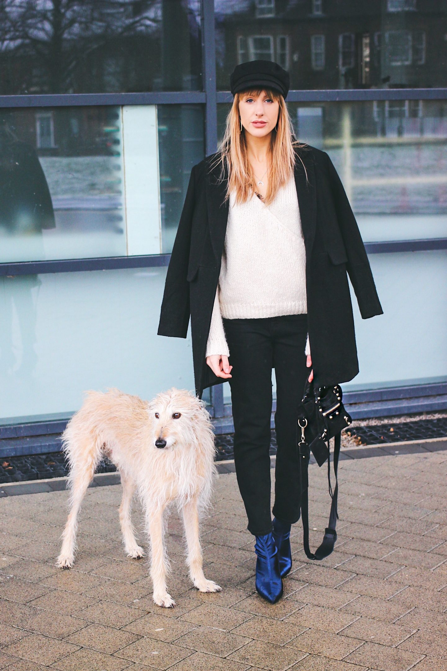 fashion bloggers and their pets charlotte and brody from Lurchhoundloves