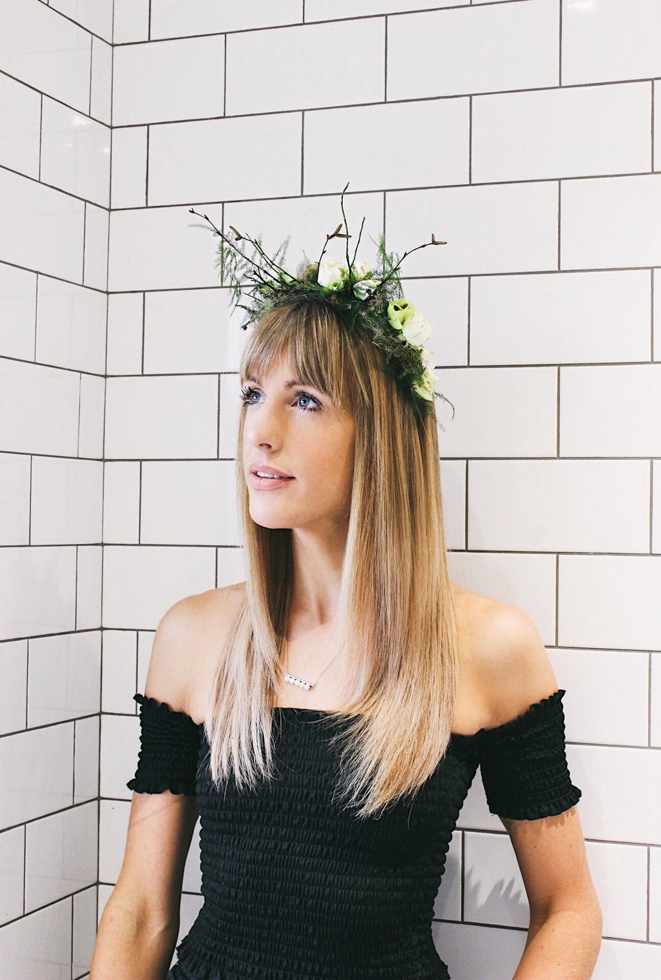 how I keep my hair salon worthy Charlotte Buttrick Fashion Blogger