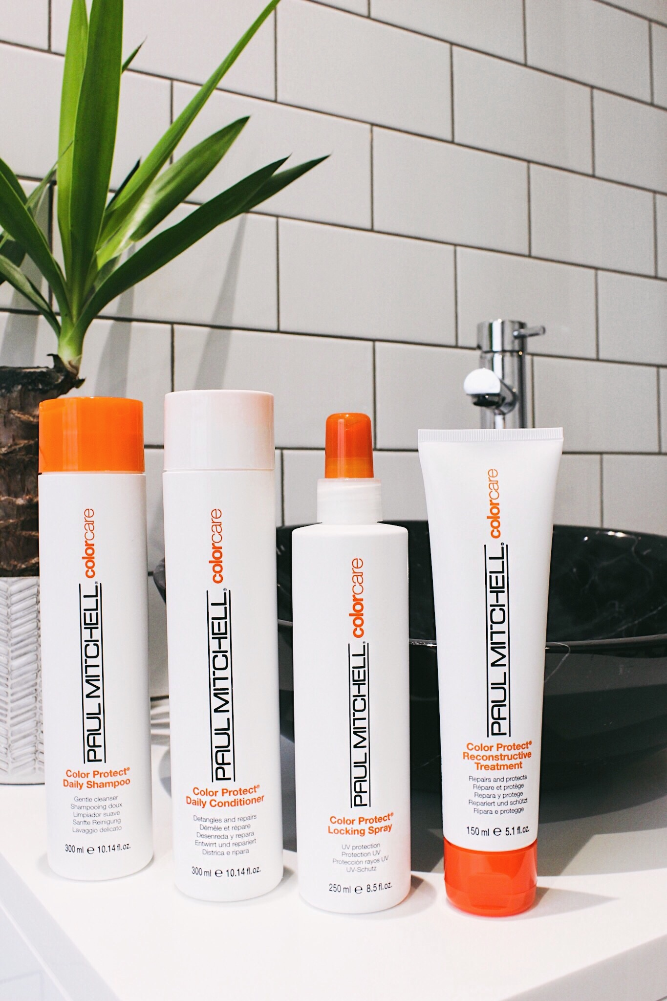Paul Mitchell Hair Care products for bleached hair