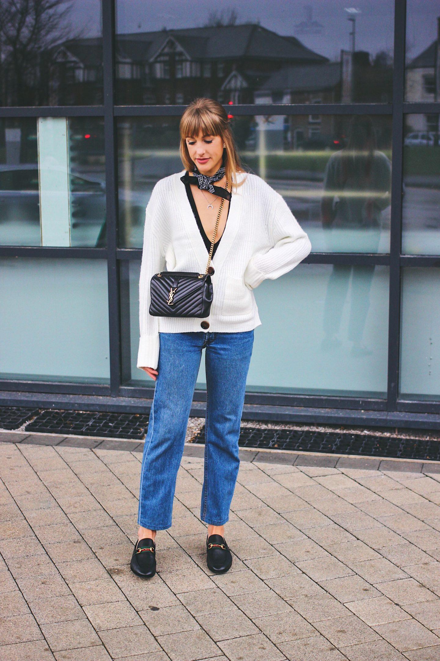 uk high street fashion blogger wearing asos