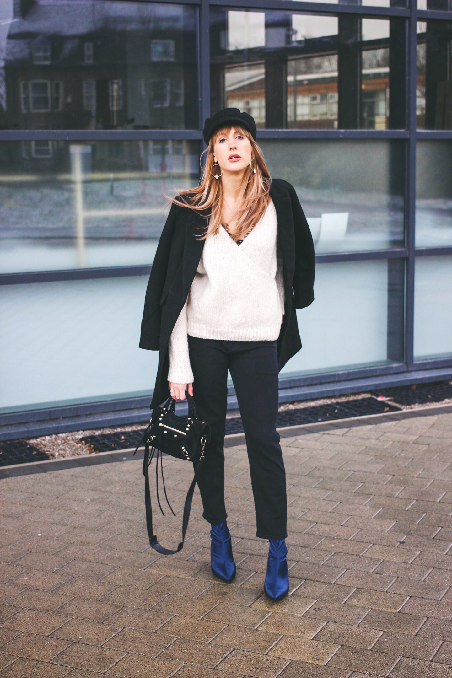 how to style black jeans on UK fashion blog