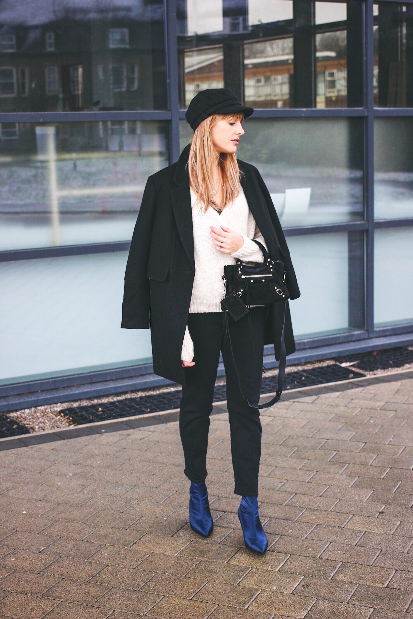 minimal smart outfit street style