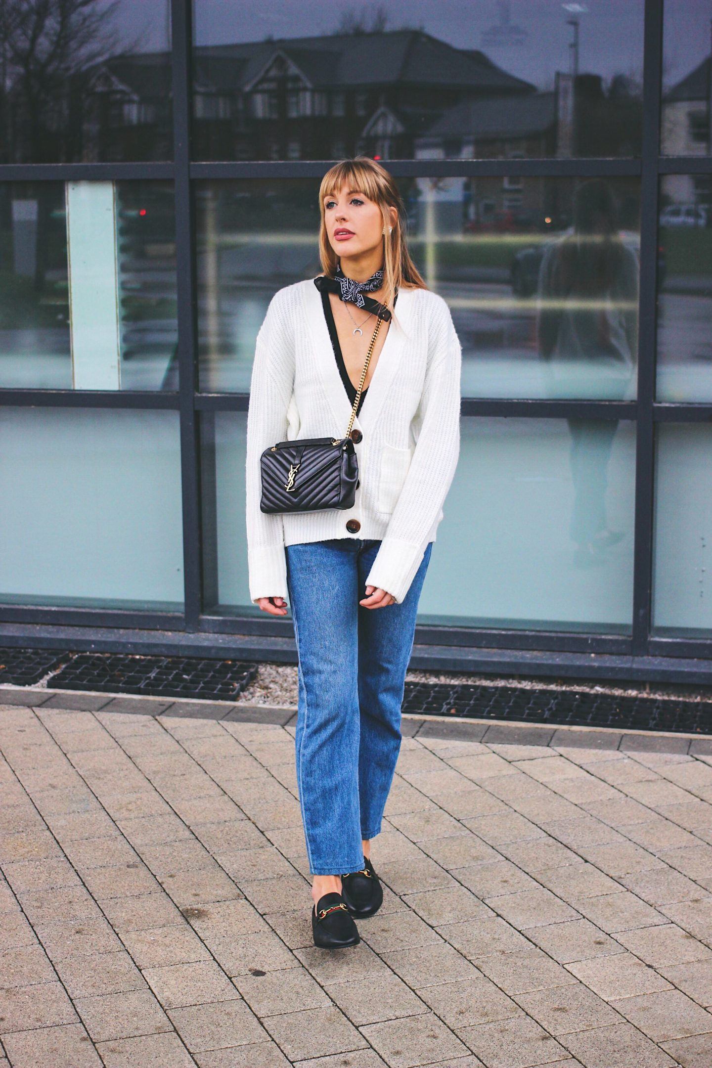 ways to wear jeans outfit ideas - Lurchhoundloves style blog Charlotte Buttrick