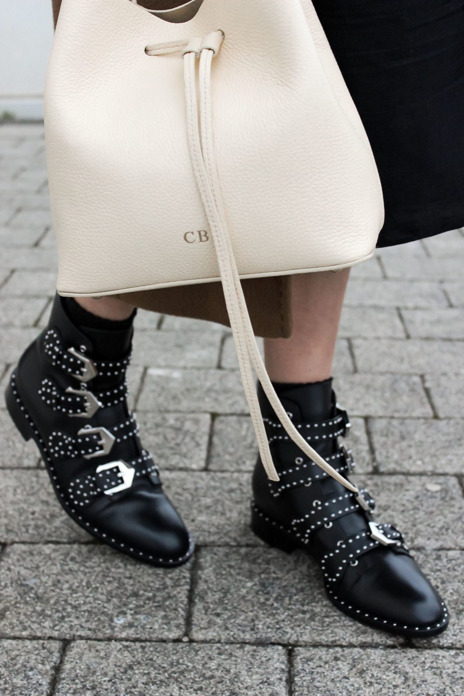 Givenchy buckle boots review - street